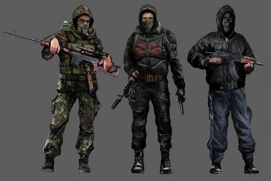 Одежда в игре сталкер онлайн