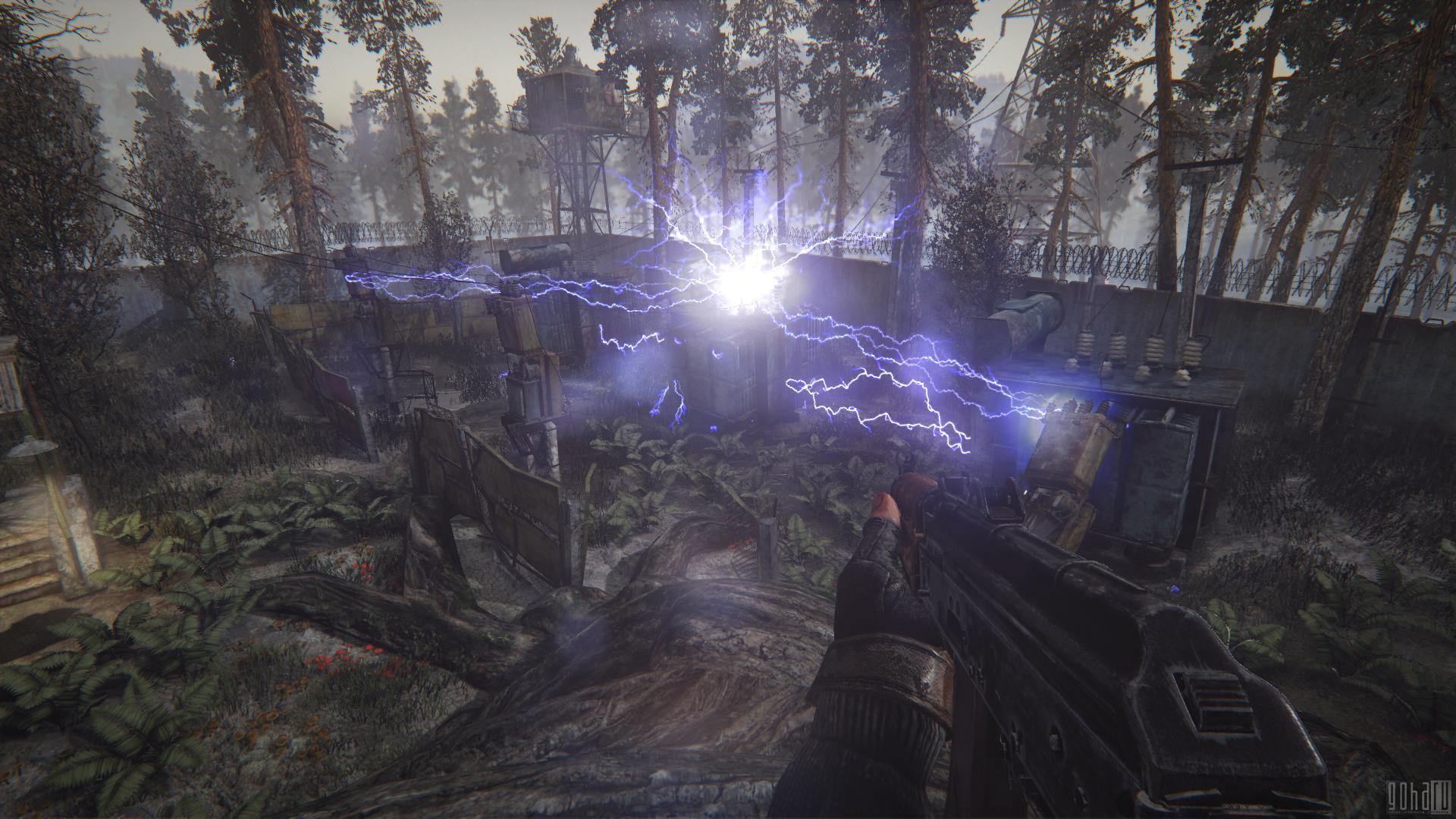 Первые скриншоты аномалий Survarium